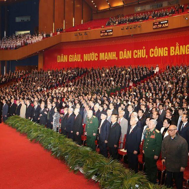Открытие XIII СЪЕЗДА Компартии Вьетнама