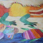 phoca_thumb_l_yamschikova polina 9 let moskva vetnamskiy narodnyy lubok - drakon cherepaha i ryba