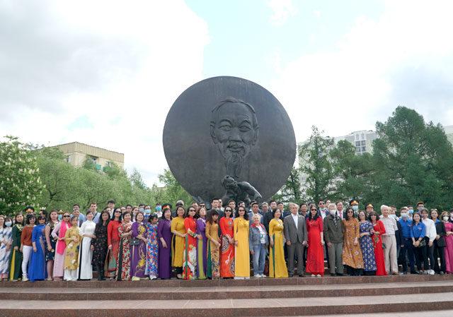 Празднование 131-й годовщины со дня рождения Хо Ши Мина